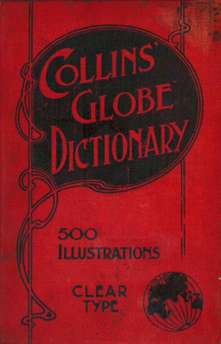 Collins Globe Dictionary 500 illustrations (cover)