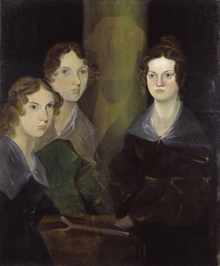 The Brontë Sisters by Patrick Branwell Brontë restored