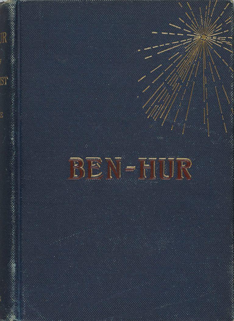 An 1880 first edition of Ben-Hur.