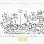"Shel Silverstein's original artwork for a ""Union for Children's Rights"" from A Light in the Attic (1981)."
