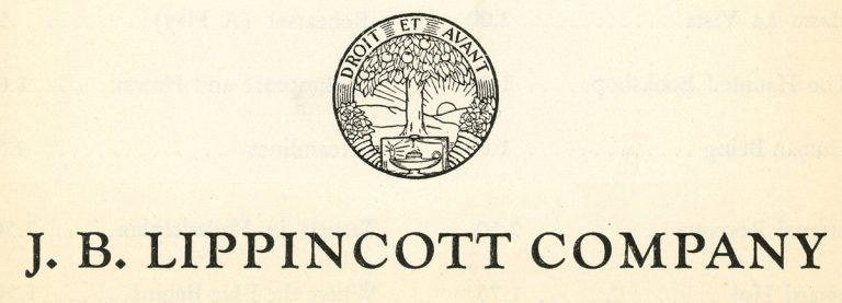 The Lippincott logo from 1937.