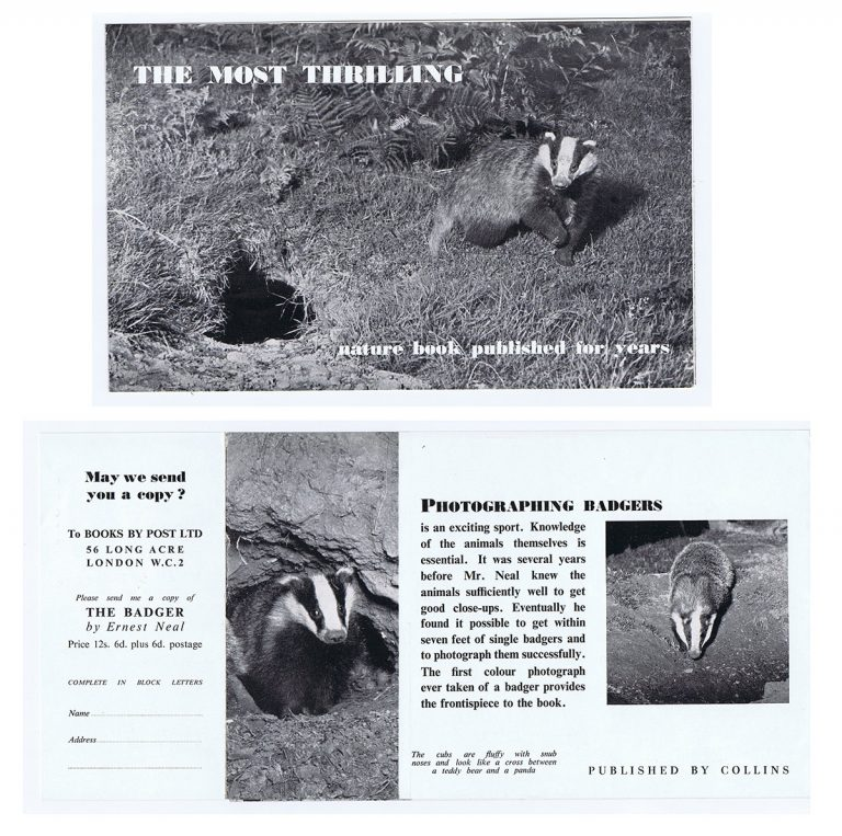 An advertisement for the New Naturalist Library.