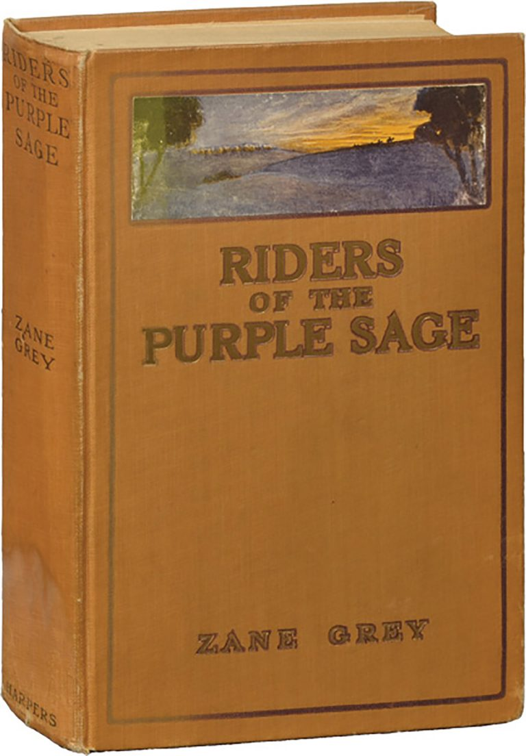 Riders of the Purple Sage by Zane Grey (1912).