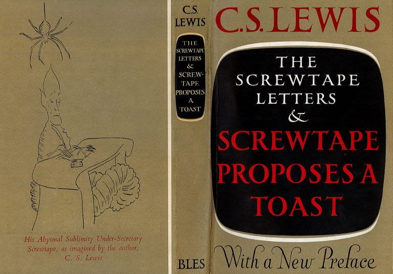 A 1961 edition of The Screwtape Letters by C. S. Lewis.