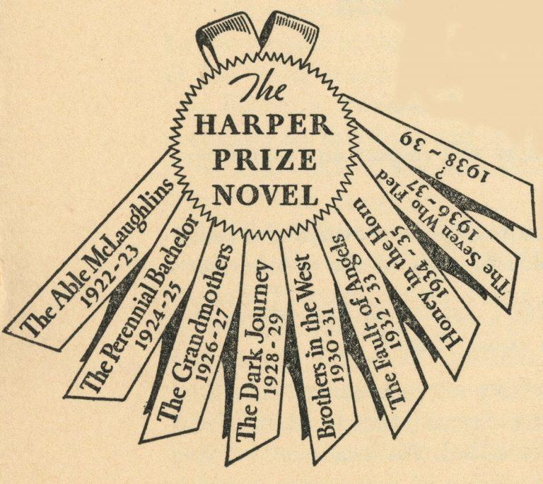 The Harper Prize Novel (Ribbon)
