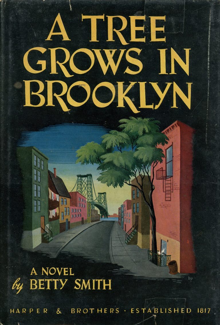 A Tree Grows in Brooklyn. A Novel by Betty Smith. Original Cover. Harper & Brothers. Established 1817.