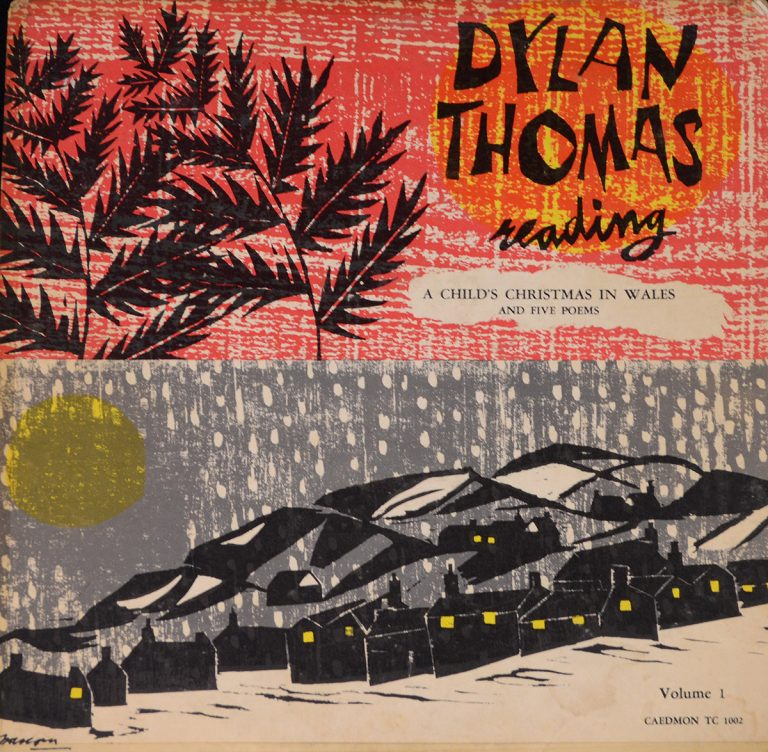 Dylan Thomas Reading A Child's Christmas in Wales LPCover