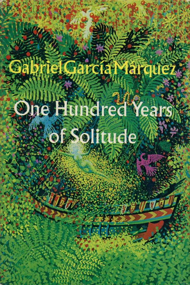Gabriel Garcia Marquez. One Hundred Years of Solitude. (Cover)