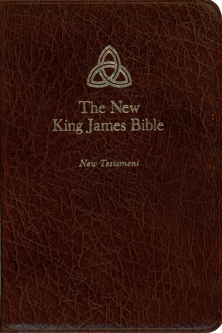 The New King james Bible New Testament (Cover)