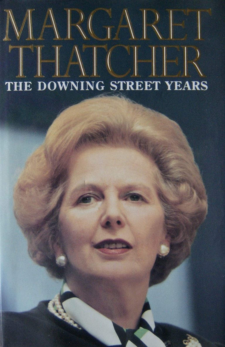 Margaret Thatcher, The Downing Street Years.