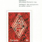 Canada Post stamp honoring Harlequin