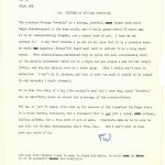 Letter recommending Sounder for publication