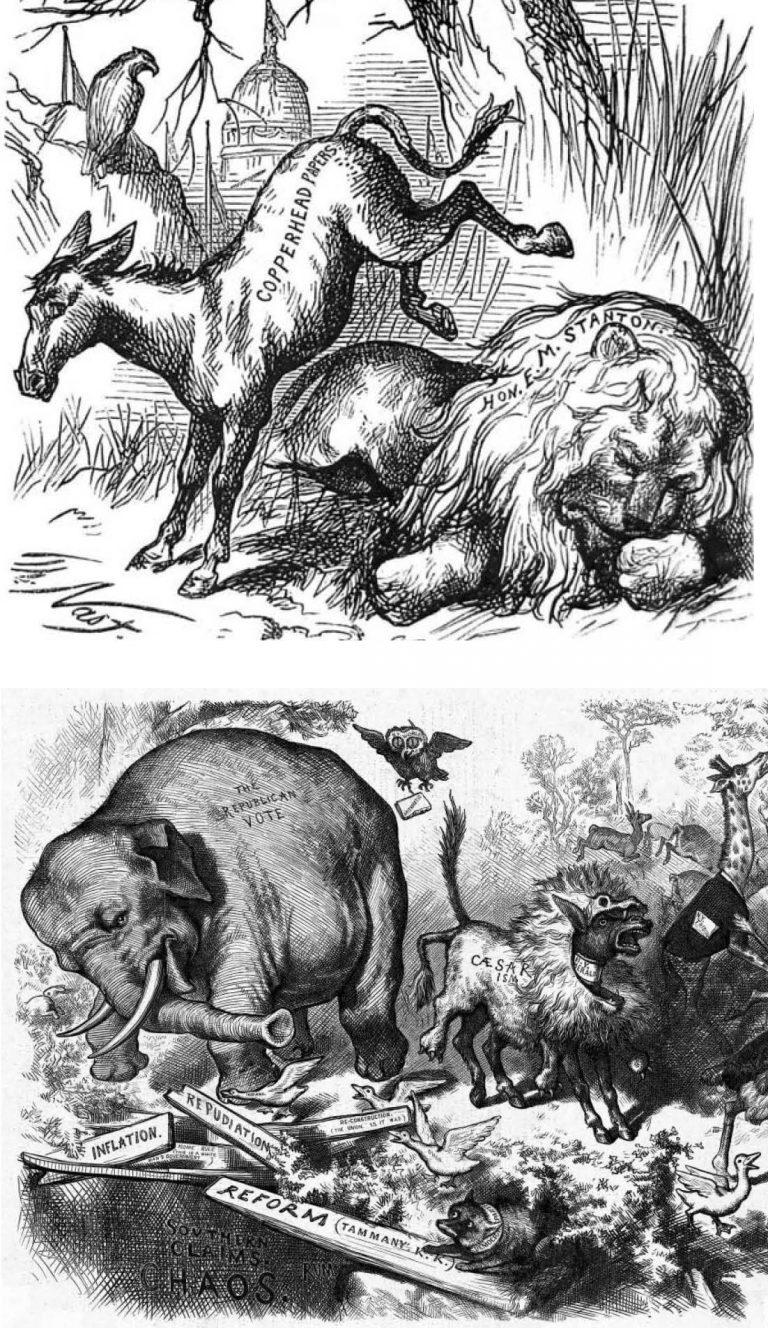 Illustrations by Thomas Nast.