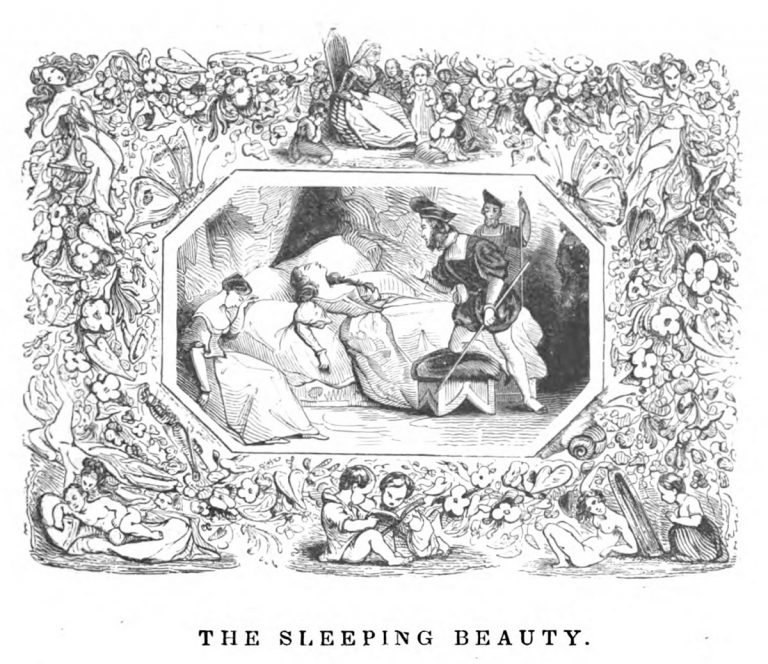 The Sleeping Beauty lithograph print