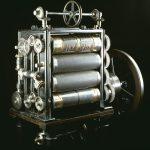 Rotary printing press machine