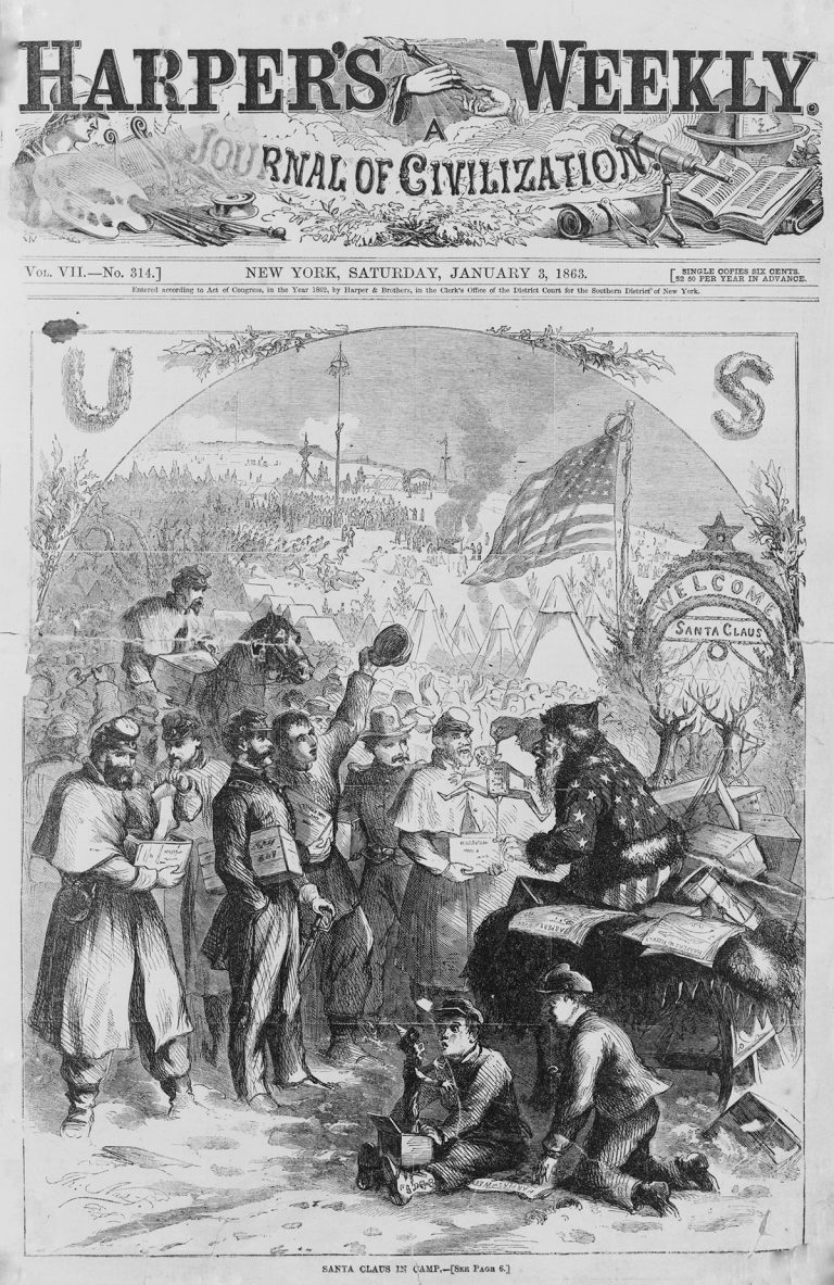 Harper's Weekly A Journal of Civilization. New York, Saturday, January 3, 1863