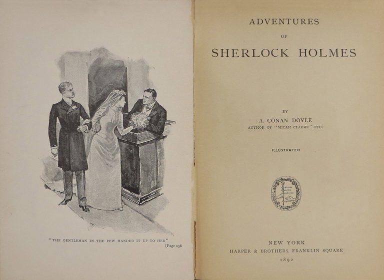 Adventures of Sherlock Holmes by A. Conan Doyle Author of