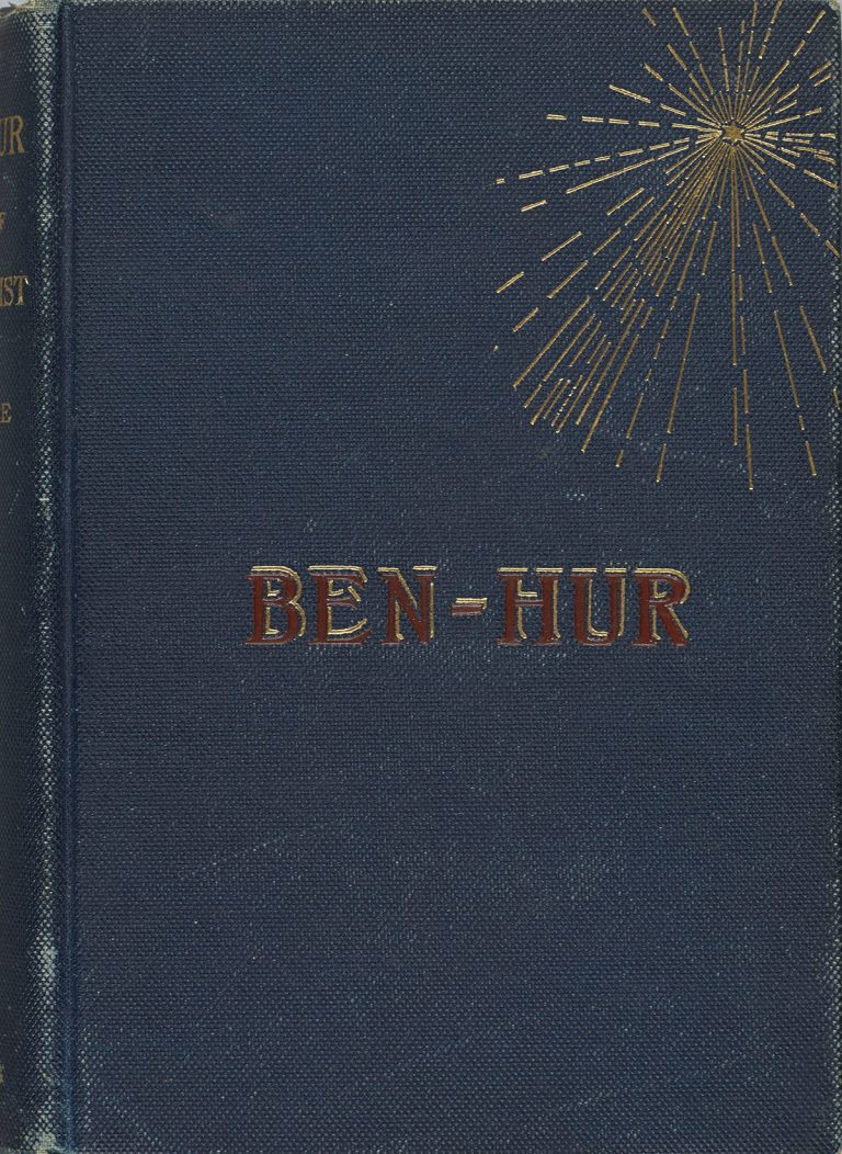 An 1880 first edition of Ben-Hur.