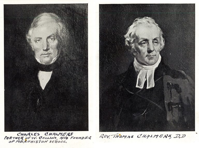 Charles Chalmers and Rev. Thomas Chalmers.