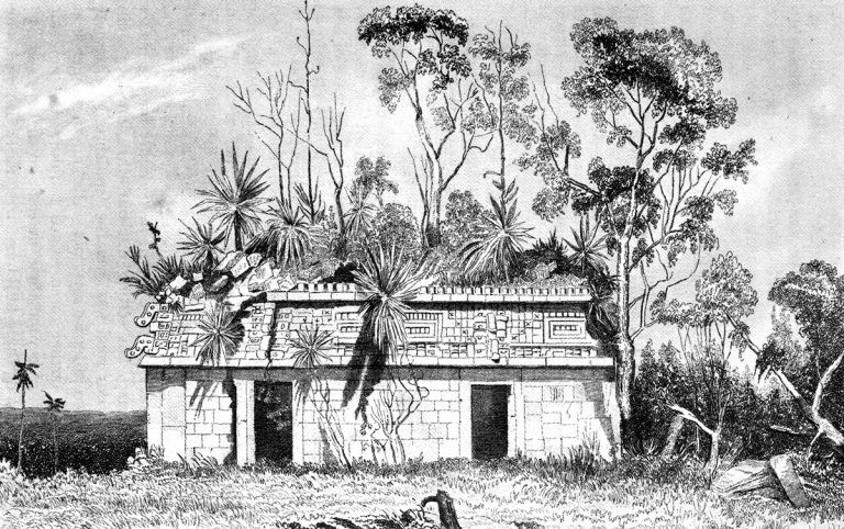 Illustration from Incidents of Travel in Yucatán (1843).