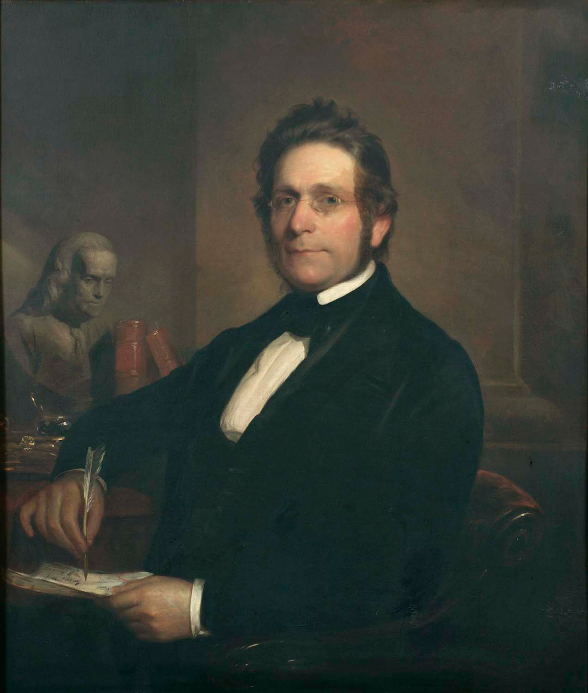 Official City Hall portrait of James Harper