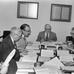 The NKJV translation committee at work.