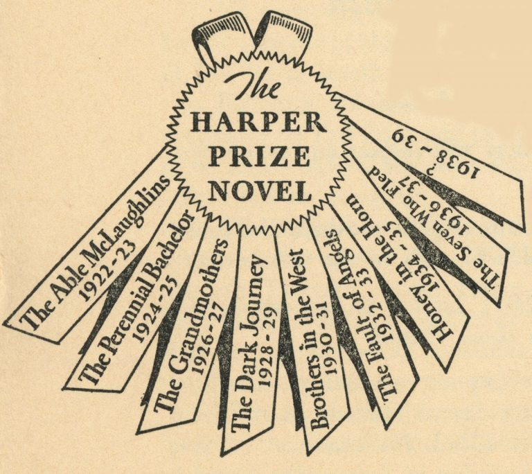 The Harper Prize Novel (Ribbon)