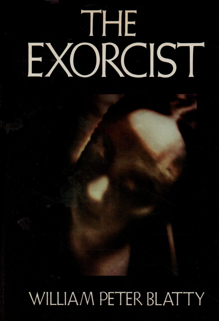 The Exorcist. Wiliam Peter Blatty. (Cover)