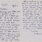 Letter from Katherine White (E. B. White's wife) regarding Stuart Little's illustrations