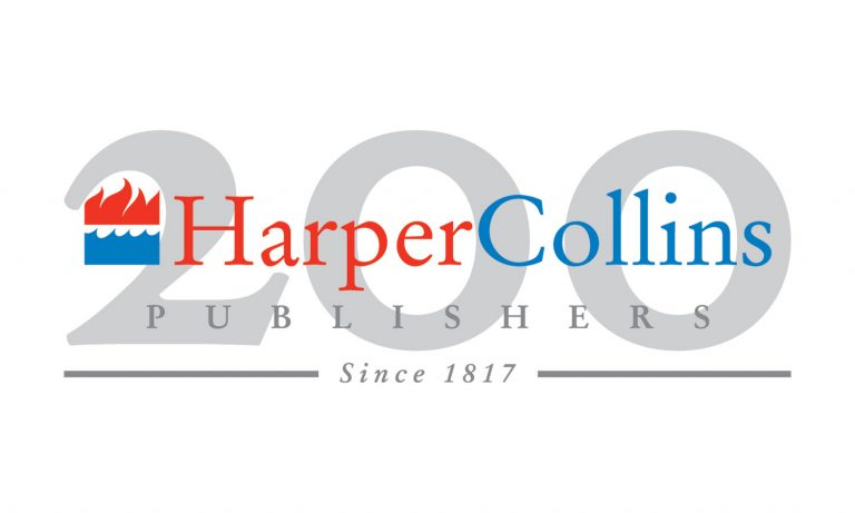 HarperCollins Publishers (Since 1817) 200 Years Anniversary Logo